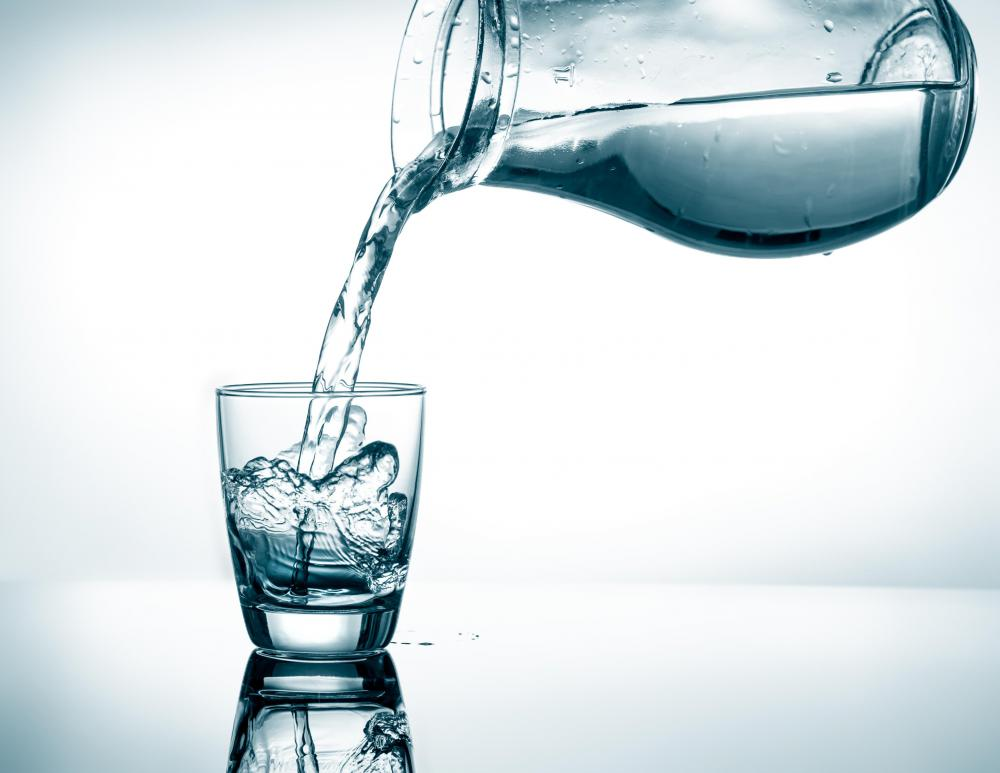Soda water is man made carbonated water that is consumed as a beverage.