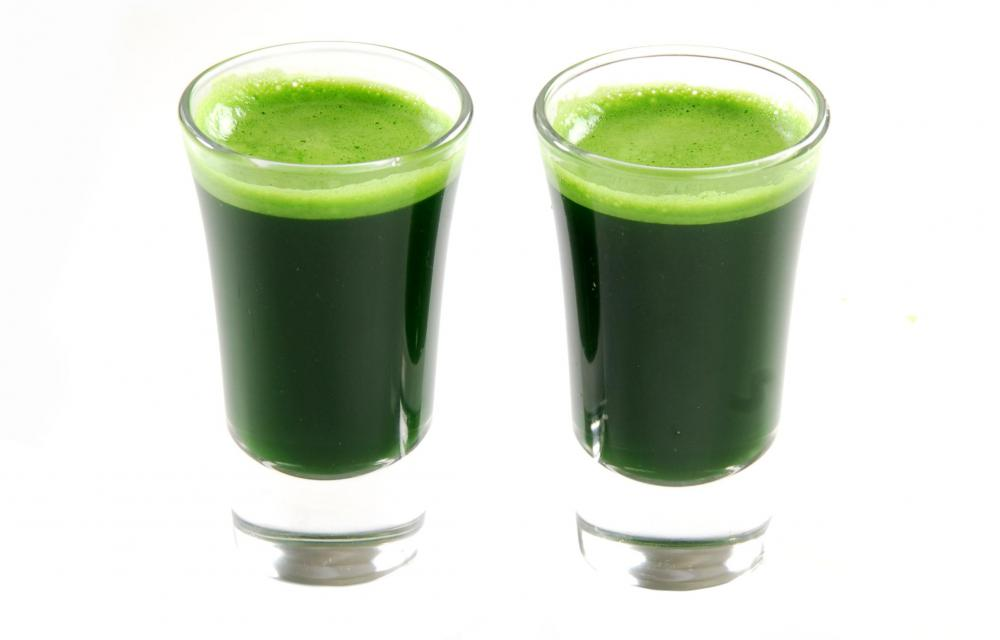 Wheatgrass juice is often added to smoothies for a nutritional boost.