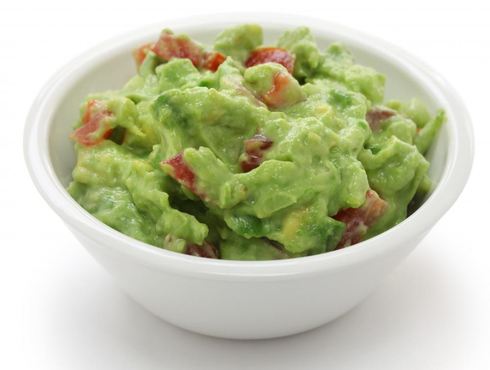 Guacamole is used as a dip, topping, or side dish.