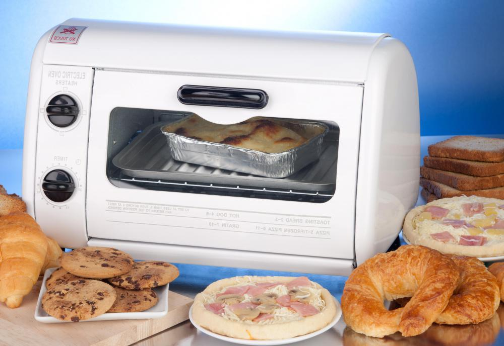 Toaster ovens are a popular counter-top cooking appliance.