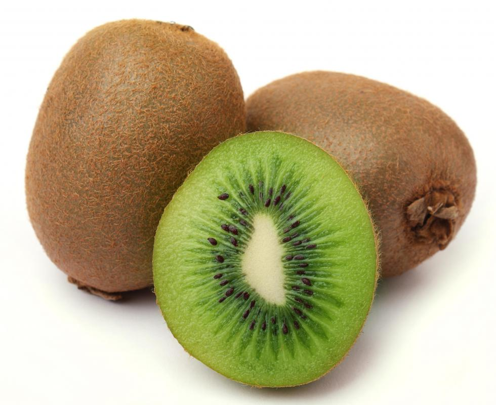 Kiwis are often included in fruit salad.