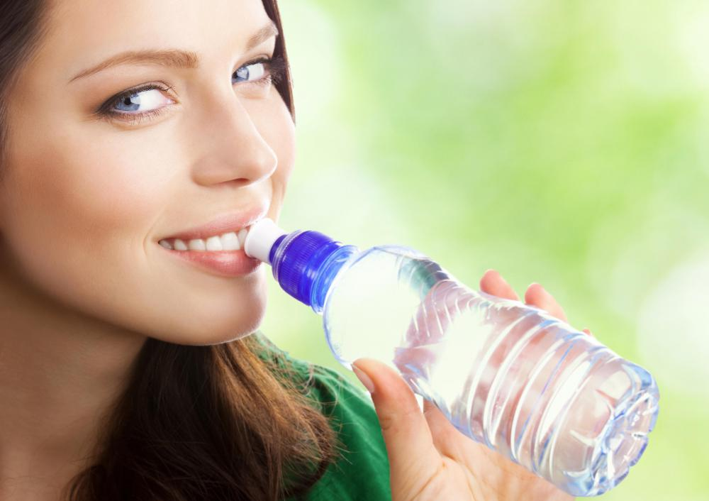 Bottled water may not include fluoride like most tap water in the United States does.