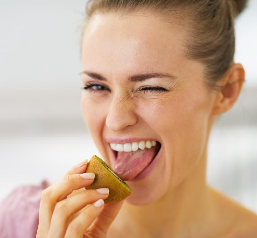 The majority of a human's tastebuds exist on the tongue.