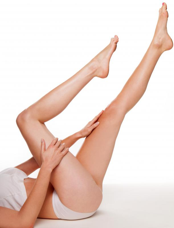 A lack of potassium, calcium or magnesium can cause leg cramps.