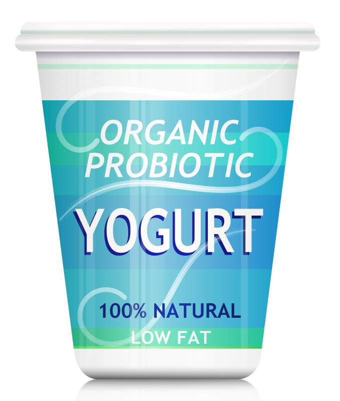 Yogurt can contain gelatin.